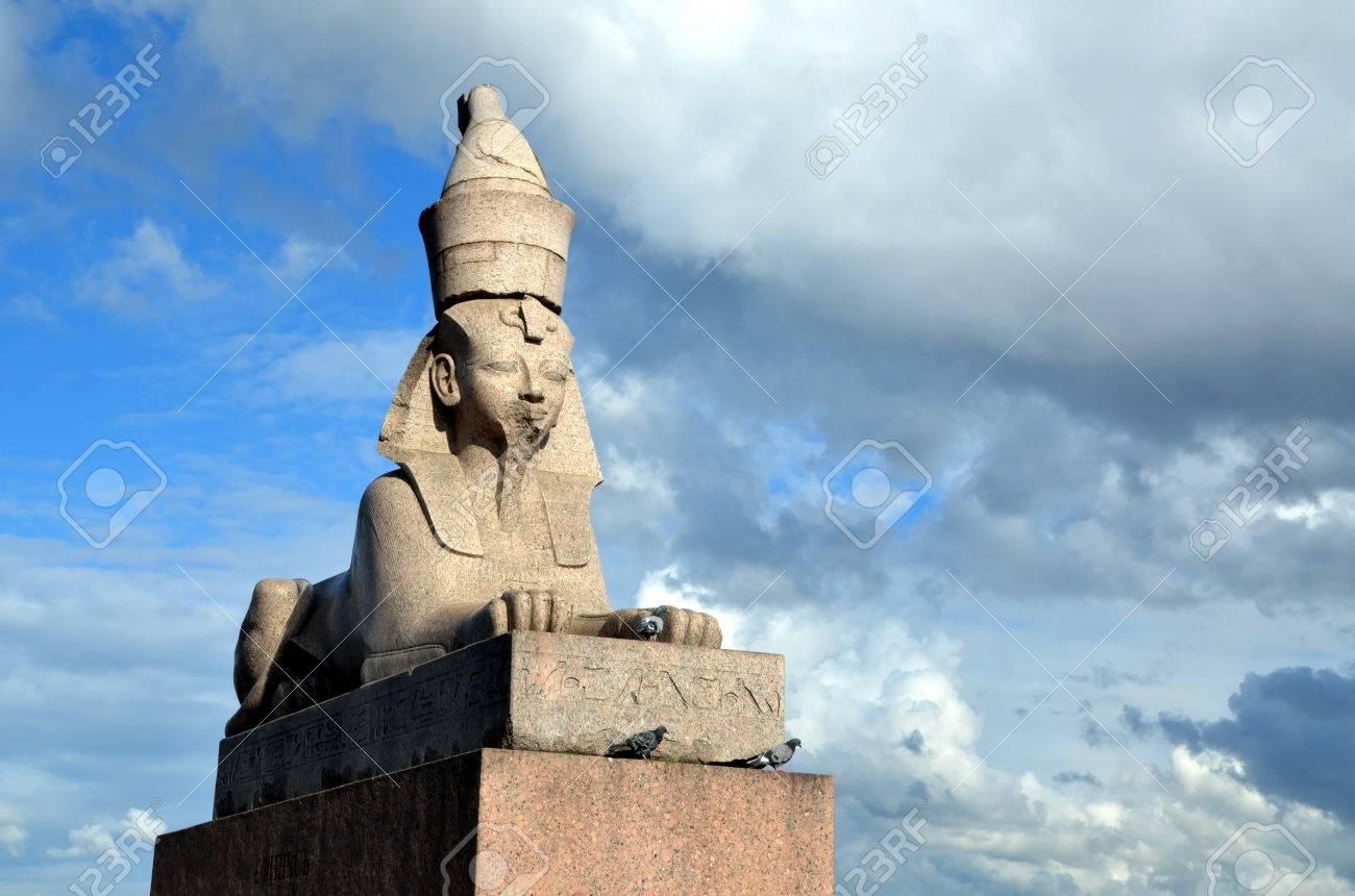 Sphinx in St. Petersburg: overview, description, history, location 28