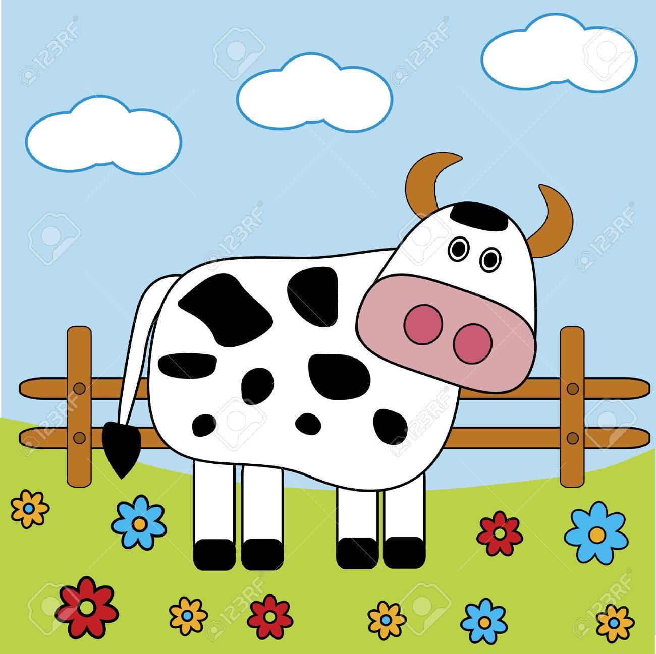 Cow Stock Vector - 3770393