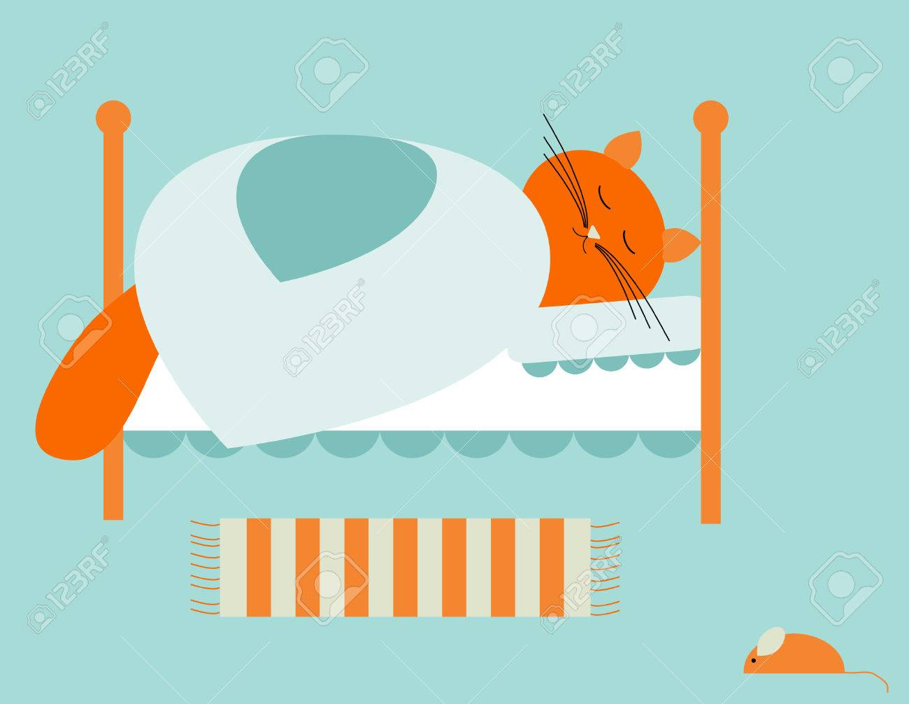Bed time Stock Vector - 4007807