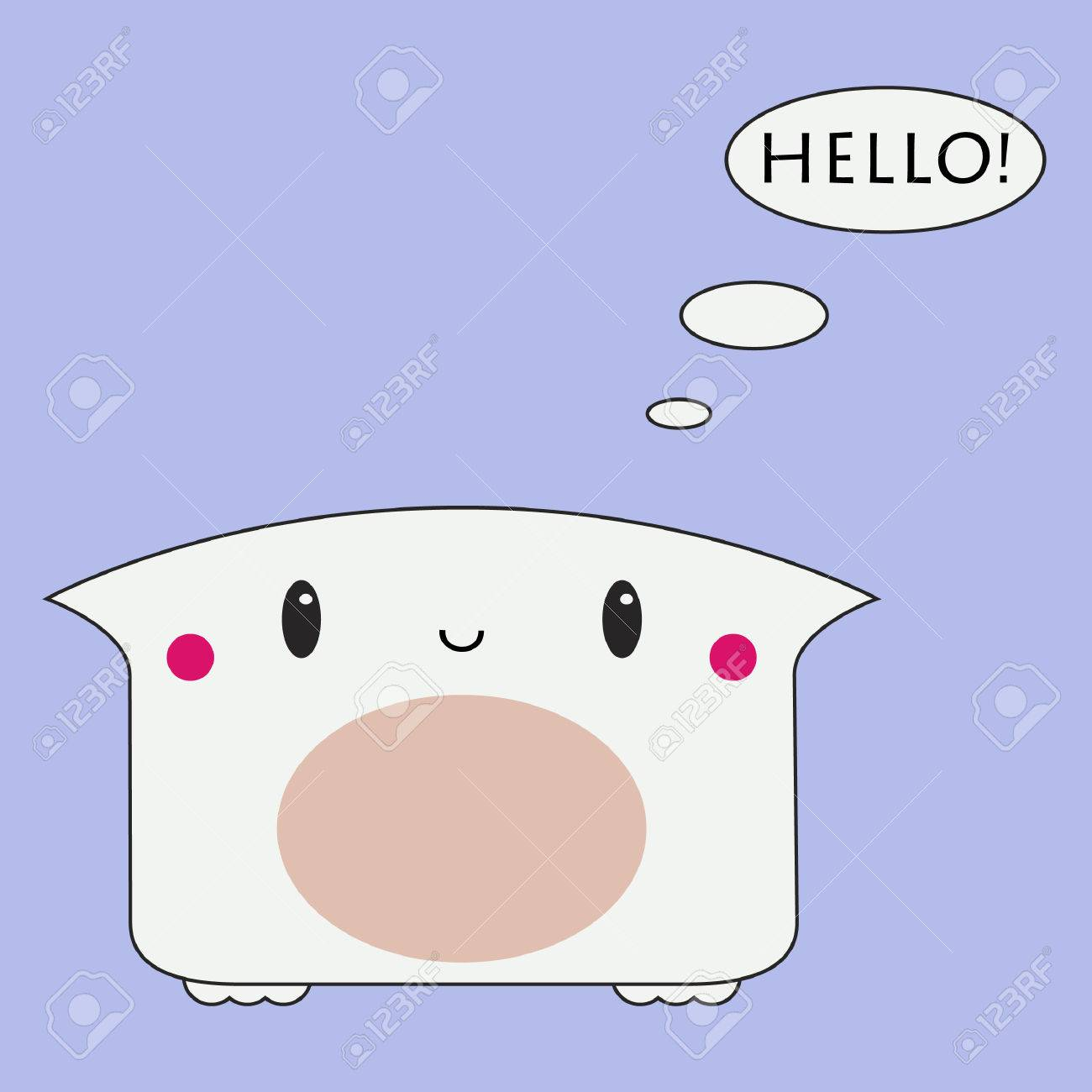 Cute monster Stock Vector - 5758130