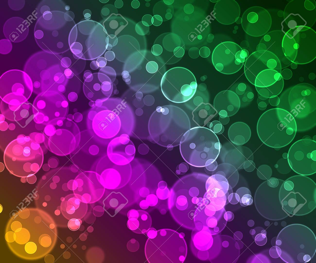 The color gamma of the bubbles Stock Photo - 16321706