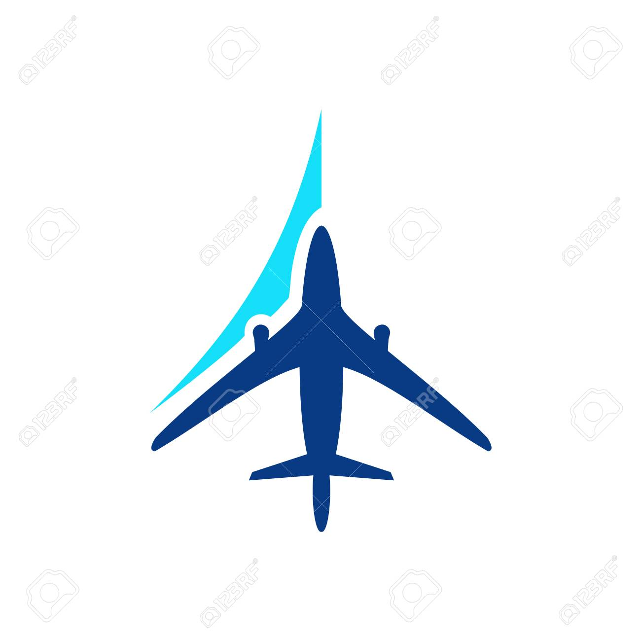 Airplane Symbol Vector Airplane Logo Template Aircraft Silhouette Royalty Free Cliparts Vectors And Stock Illustration Image 102330369