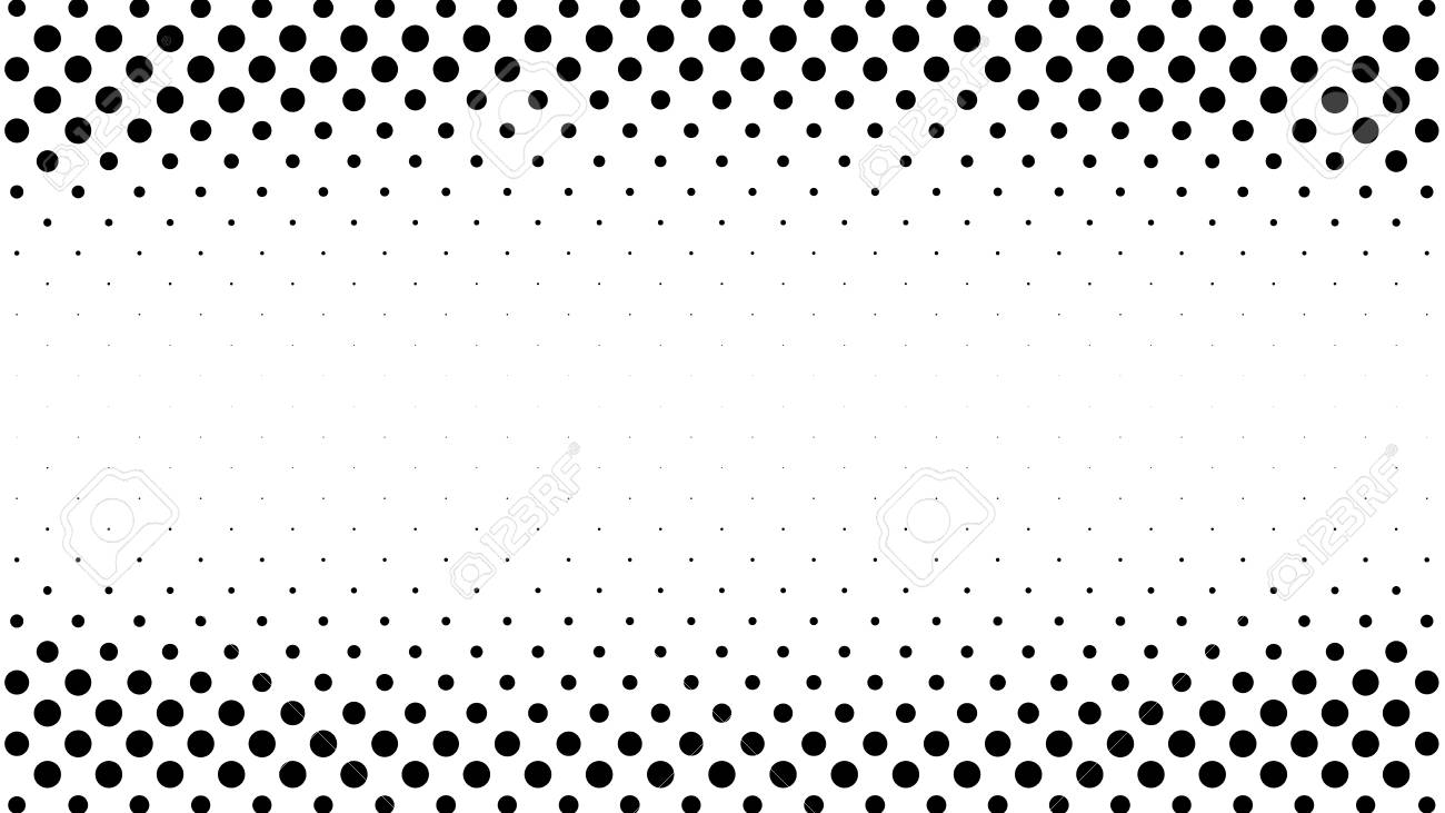 Halftone gradient pattern  Abstract halftone dots background