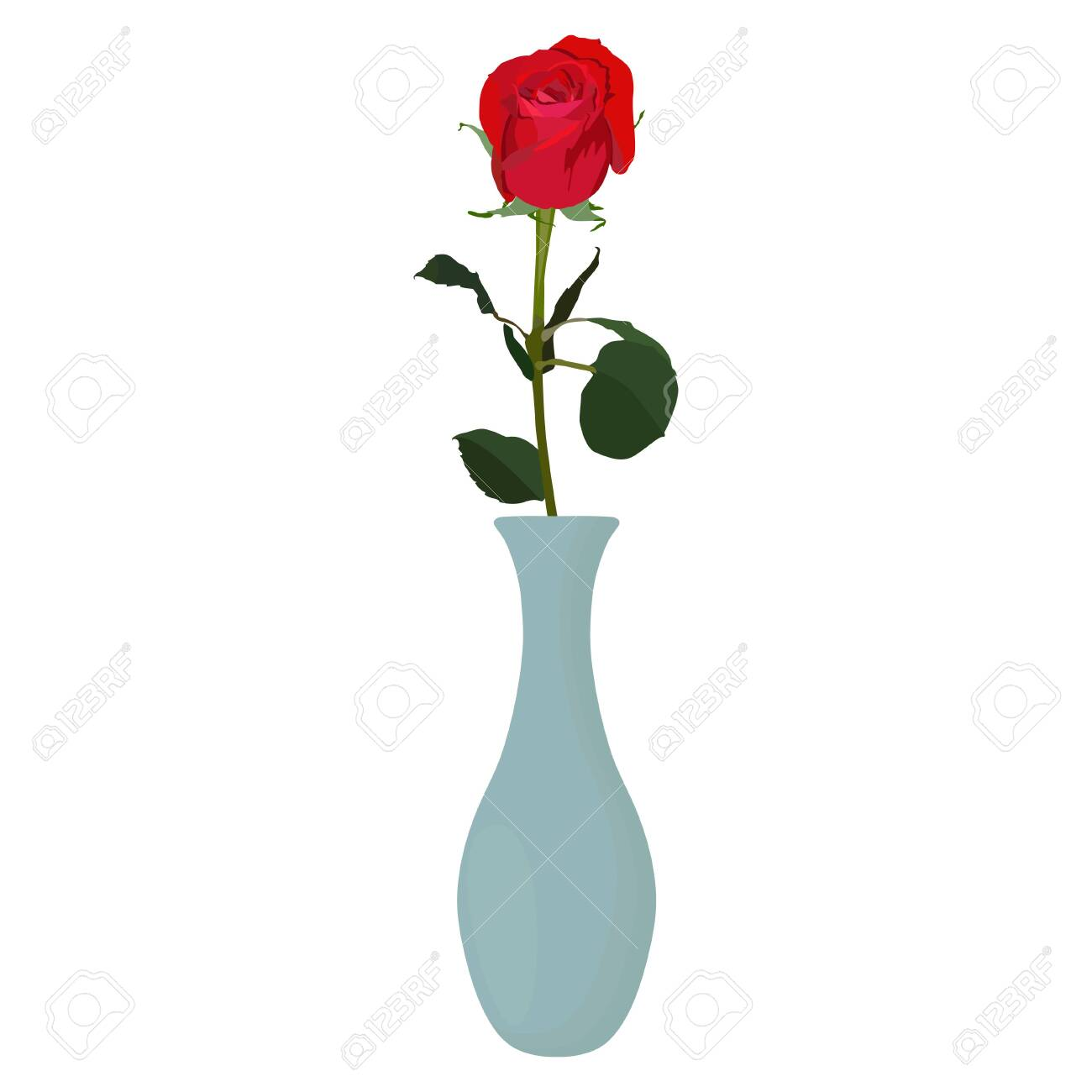 Flower Vase Vector on books vector, basket vector, art vector, box vector, decor vector, candle vector, animals vector, roses vector, floral vector, pottery vector, mirror vector, beer mug vector, teapot vector,