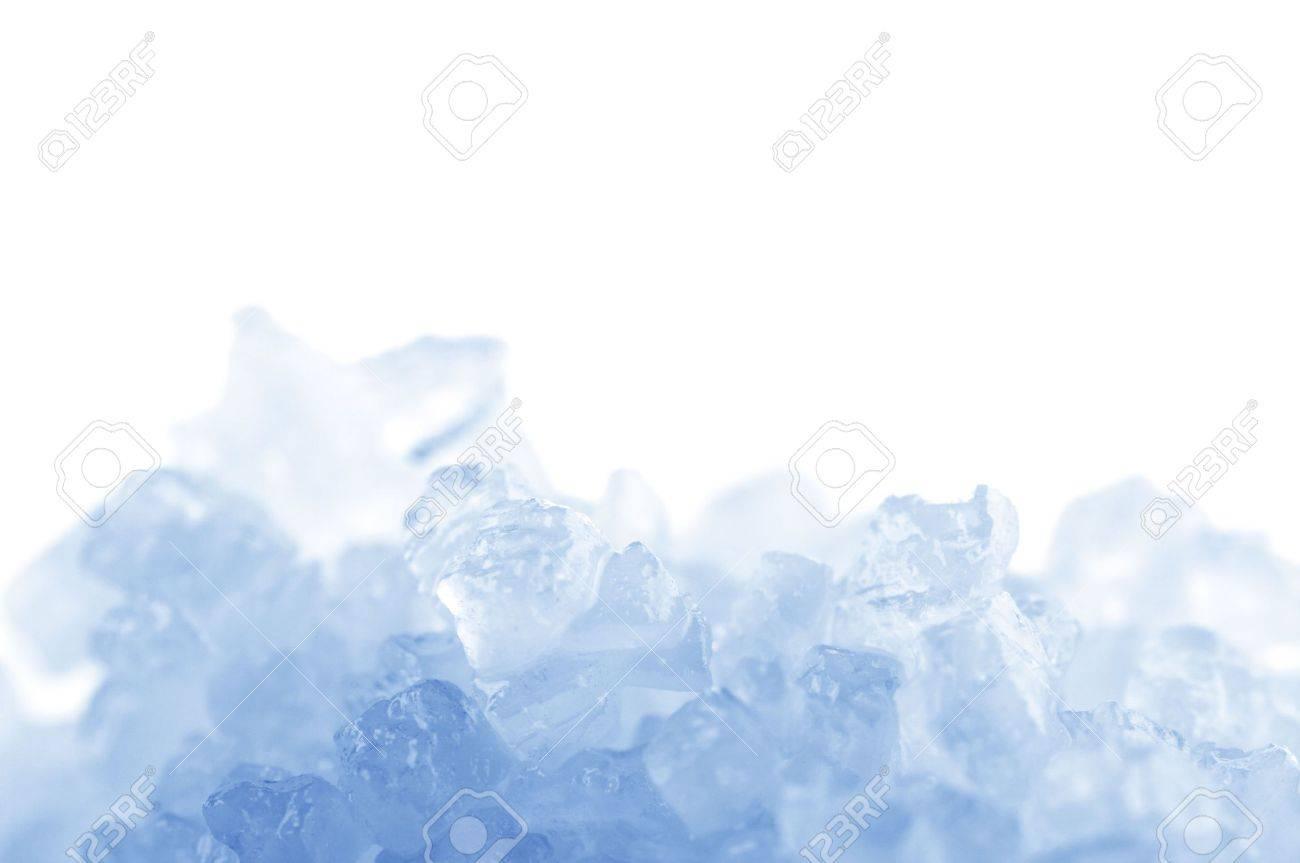 Crystals of natural sea salt close-up. Toned image. - 8080608