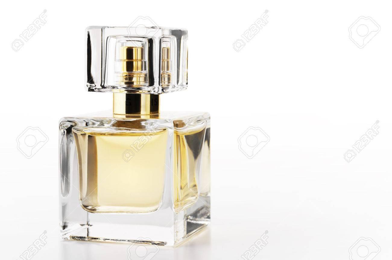 Blanc Fond Femme Bouteille Parfum Sur De uXPTOkZi