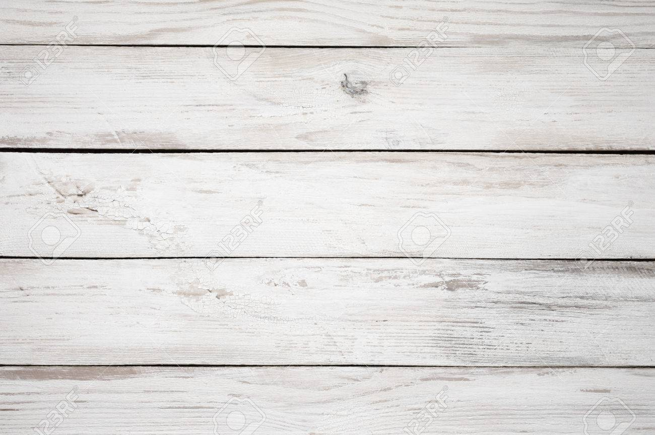 Beau Stock Photo   Vintage Weathered Shabby White Painted Wood Texture As  Background.