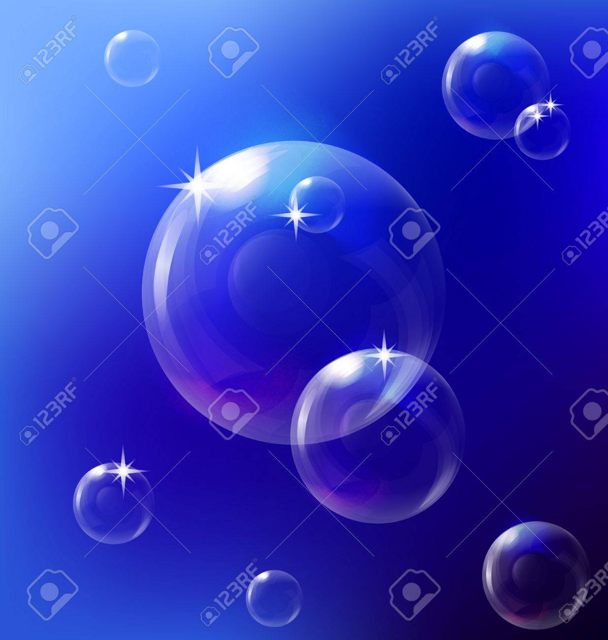 bubbles background Stock Vector - 12251455
