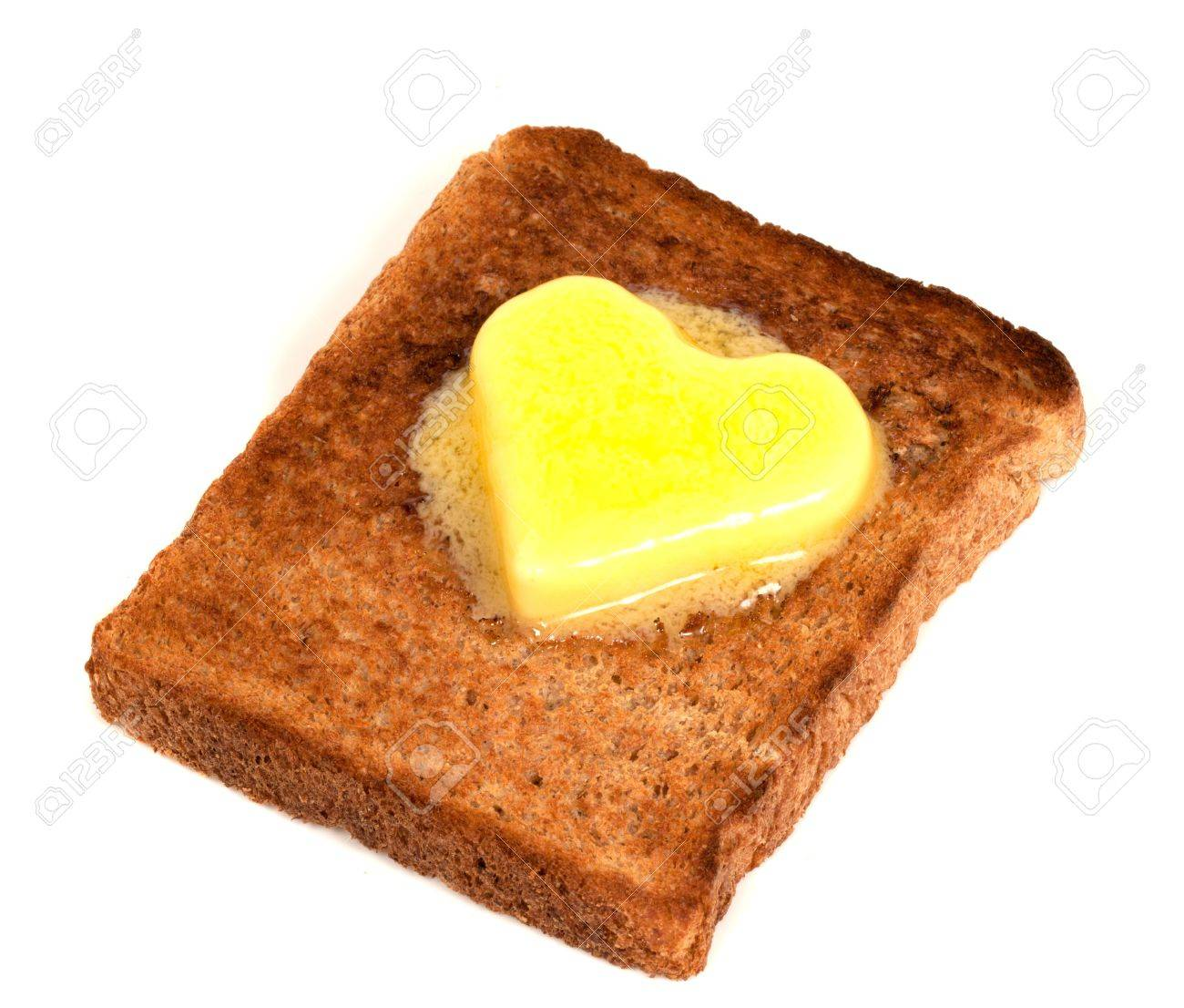 7740981-melting-heart-shaped-butter-on-w