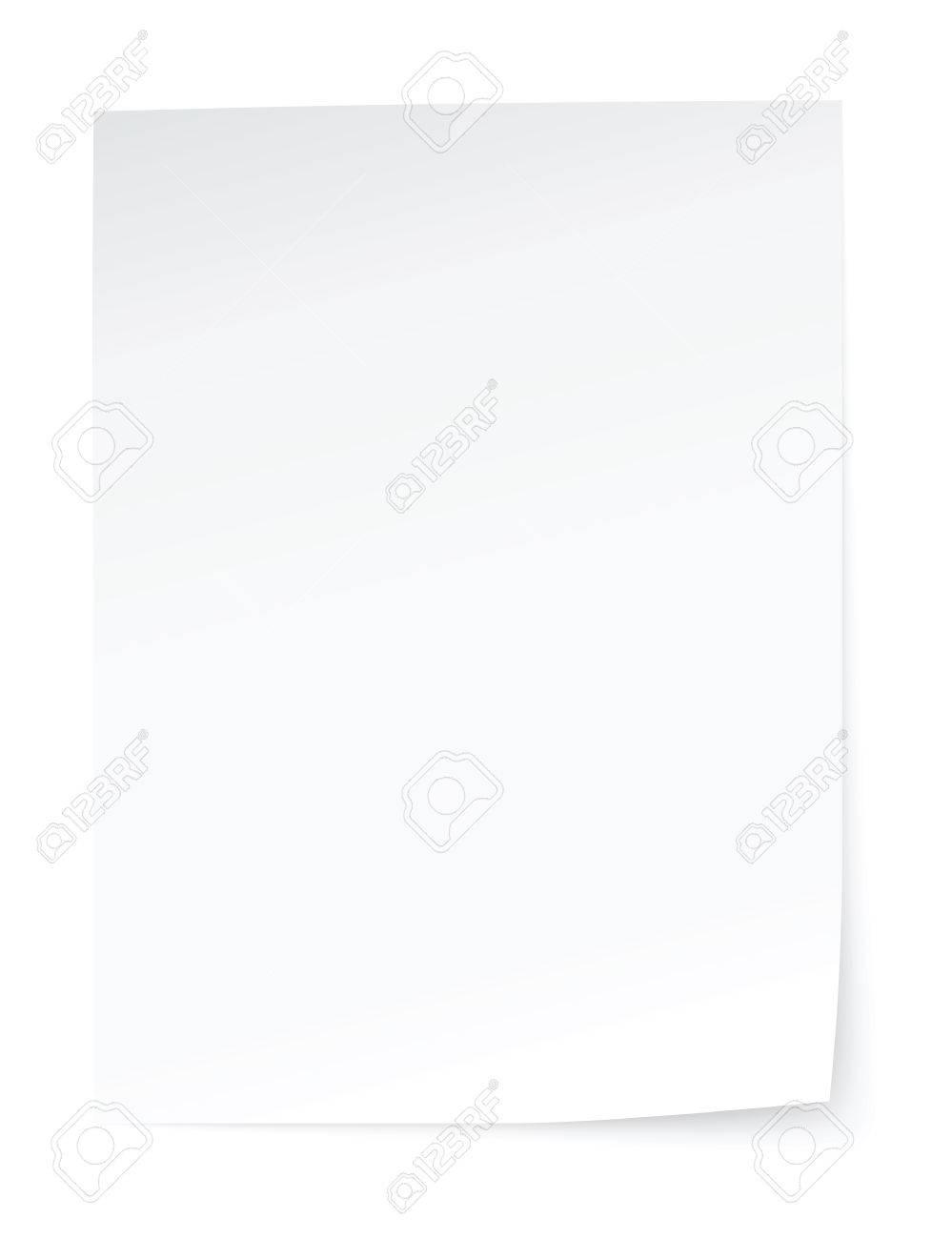 blank sheet of paper - 28961510