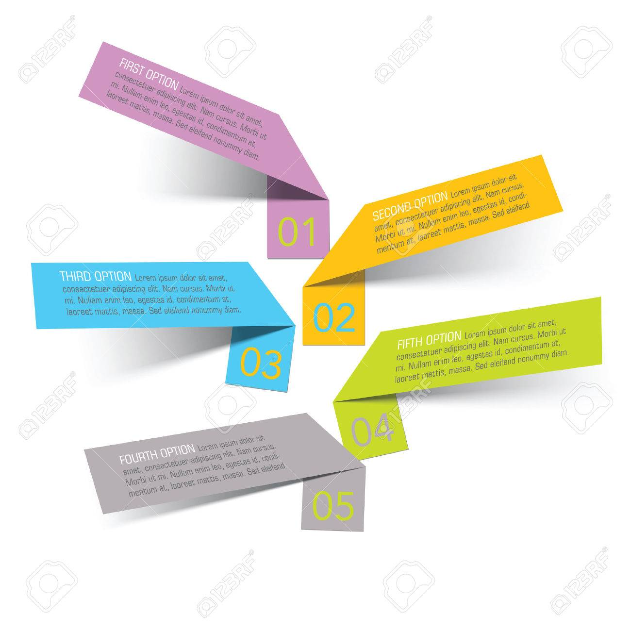 vector sticker banners, grouped, easy to modify - 28961518