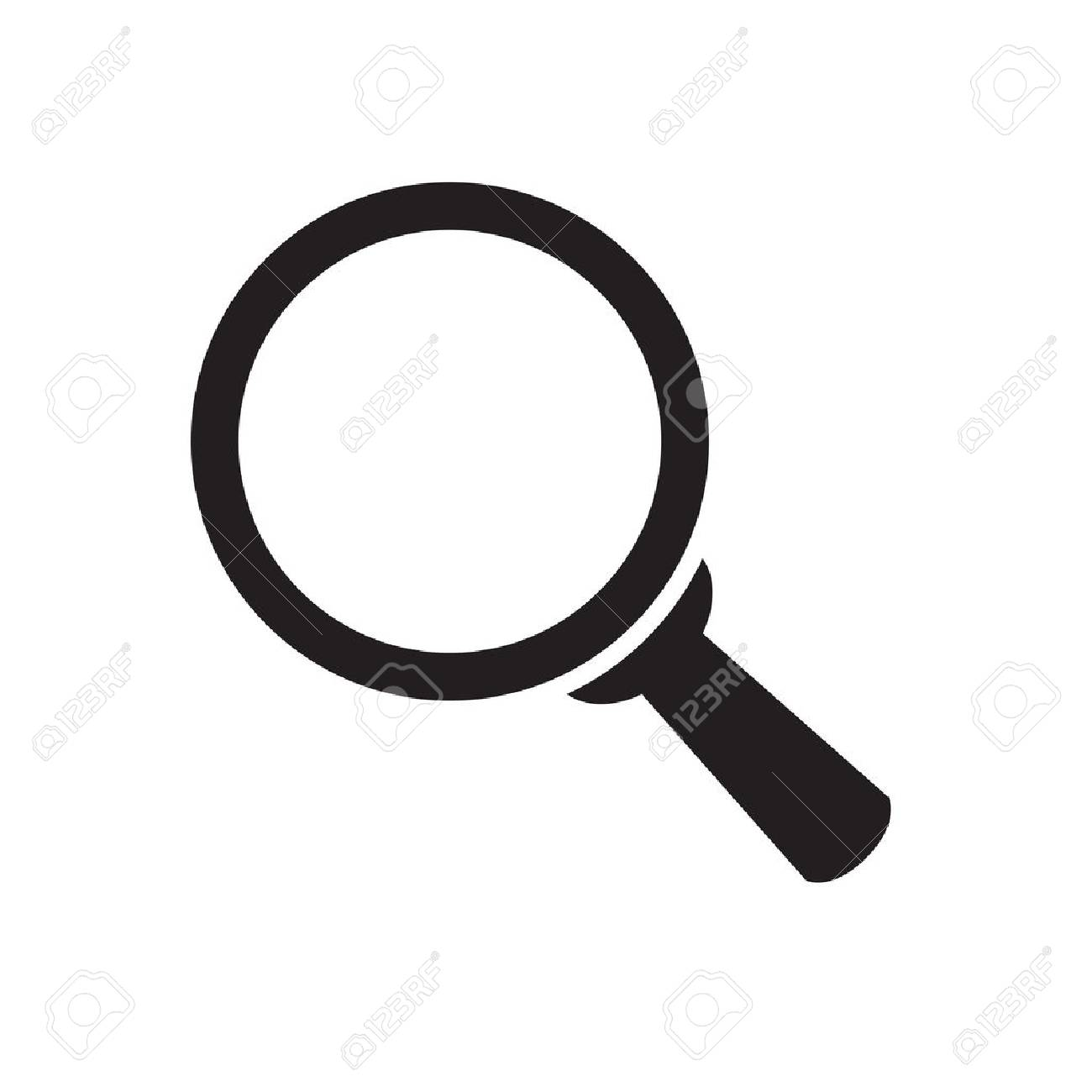 magnifying glass icon royalty free cliparts vectors and stock rh 123rf com vector image magnifying glass vector image magnifying glass