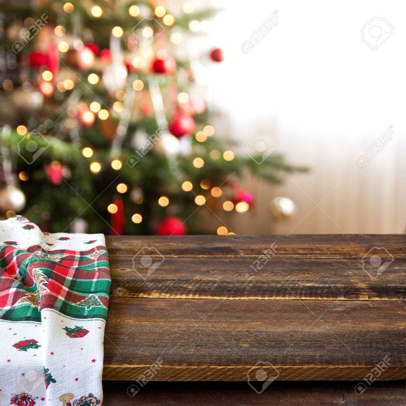 christmas table background - 32572158