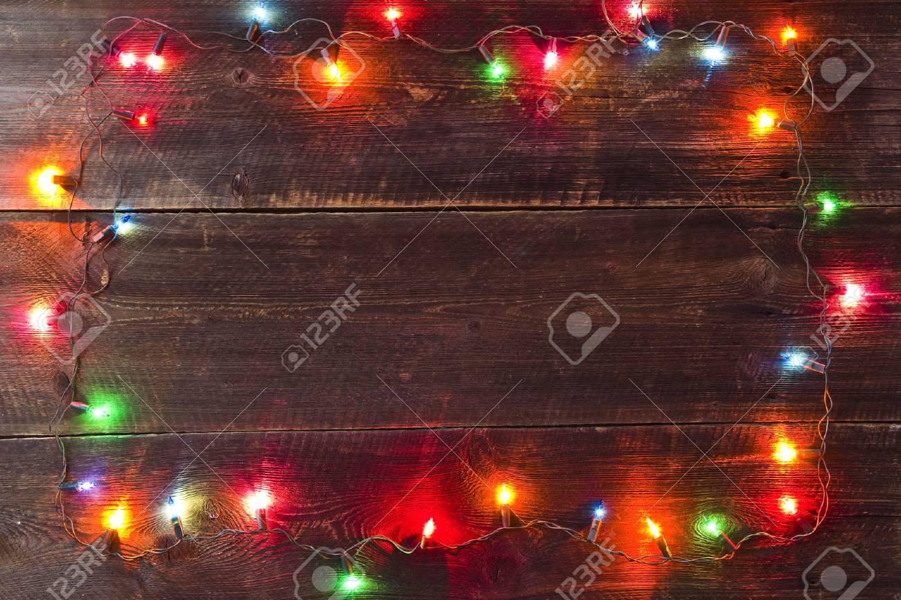 christmas light background - 32660798