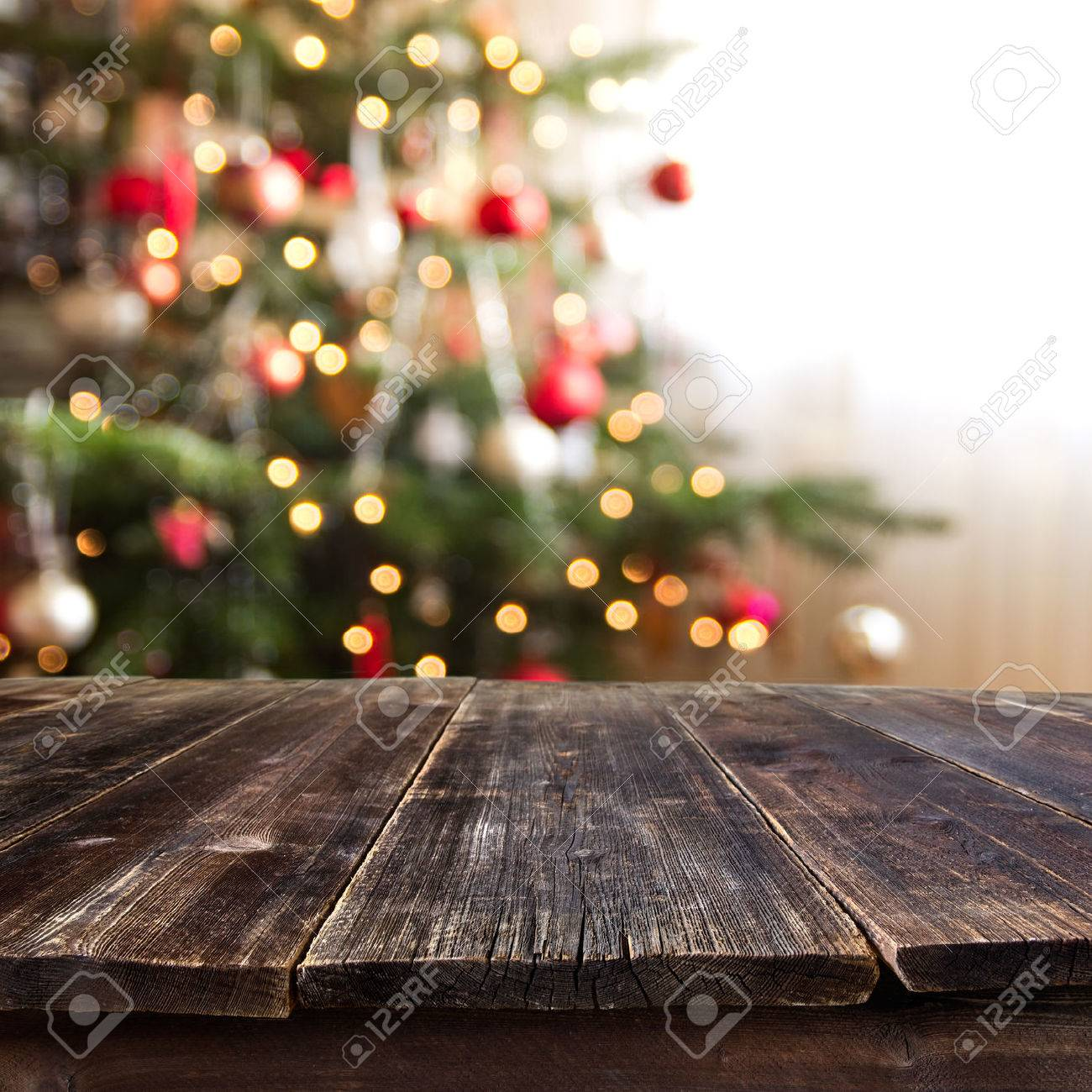 christmas table for product montage - 32723553