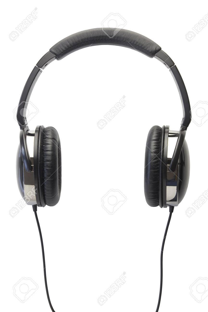 headphones isolated white - 40194086