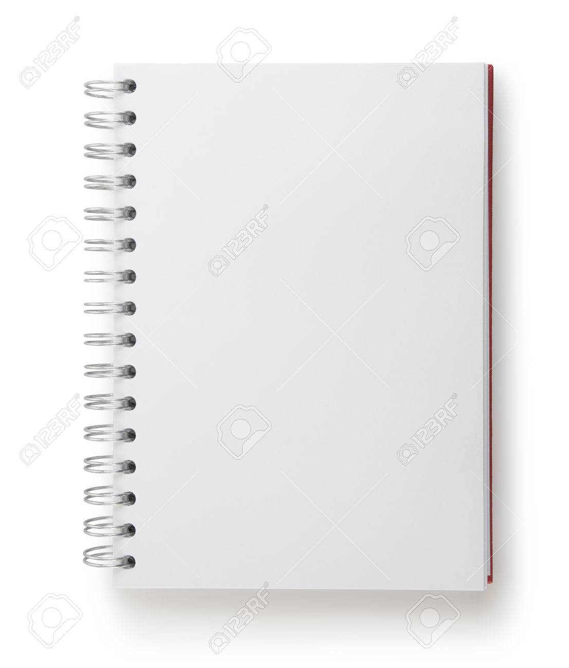 notepad with clipping path - 41328566