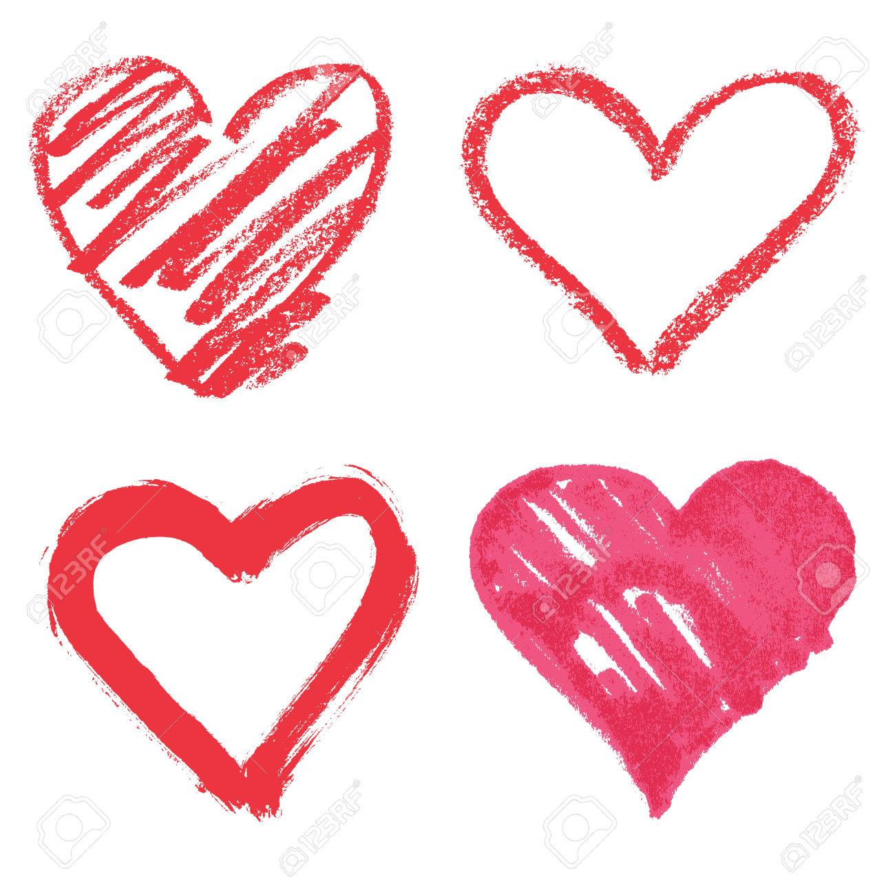 Vector heart set - 51580577
