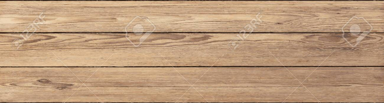 rustic pine planks vector background - 126167017