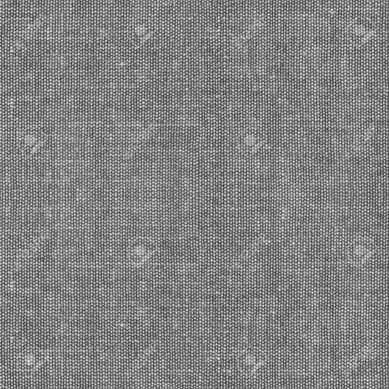 gray seamless, tileable fabric background texture - 129960394