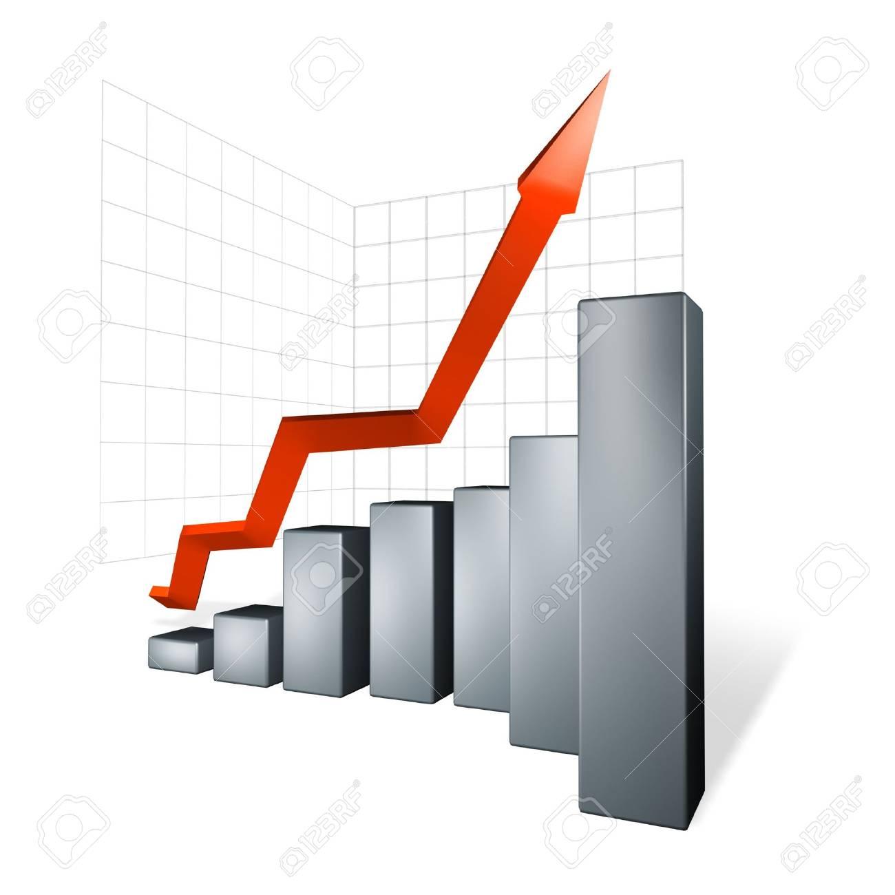 black graph Stock Photo - 3161296