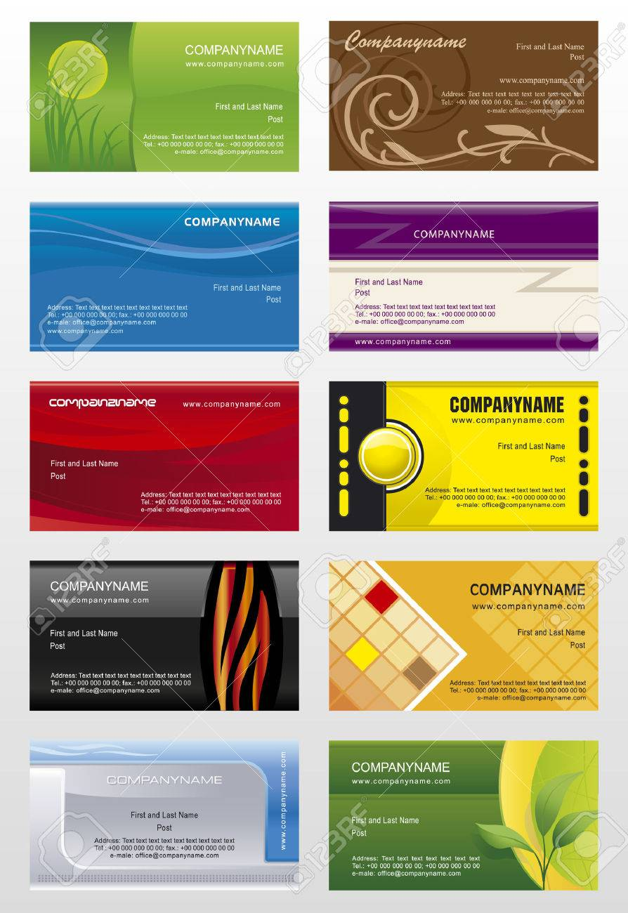 Collections Backgrounds Templates For Business Cards 7 Royalty Free
