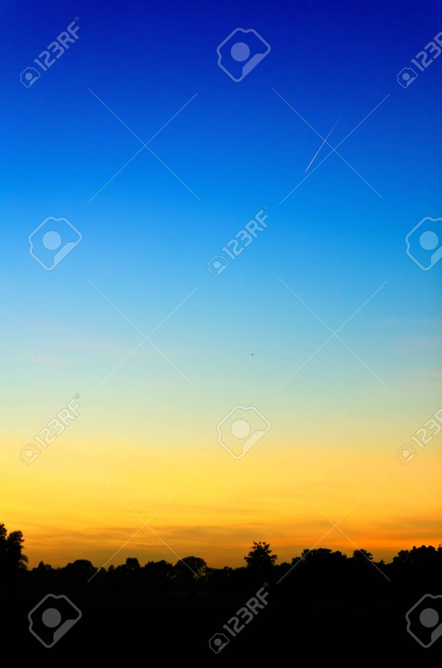 sunset sky in the nature Stock Photo - 14263727
