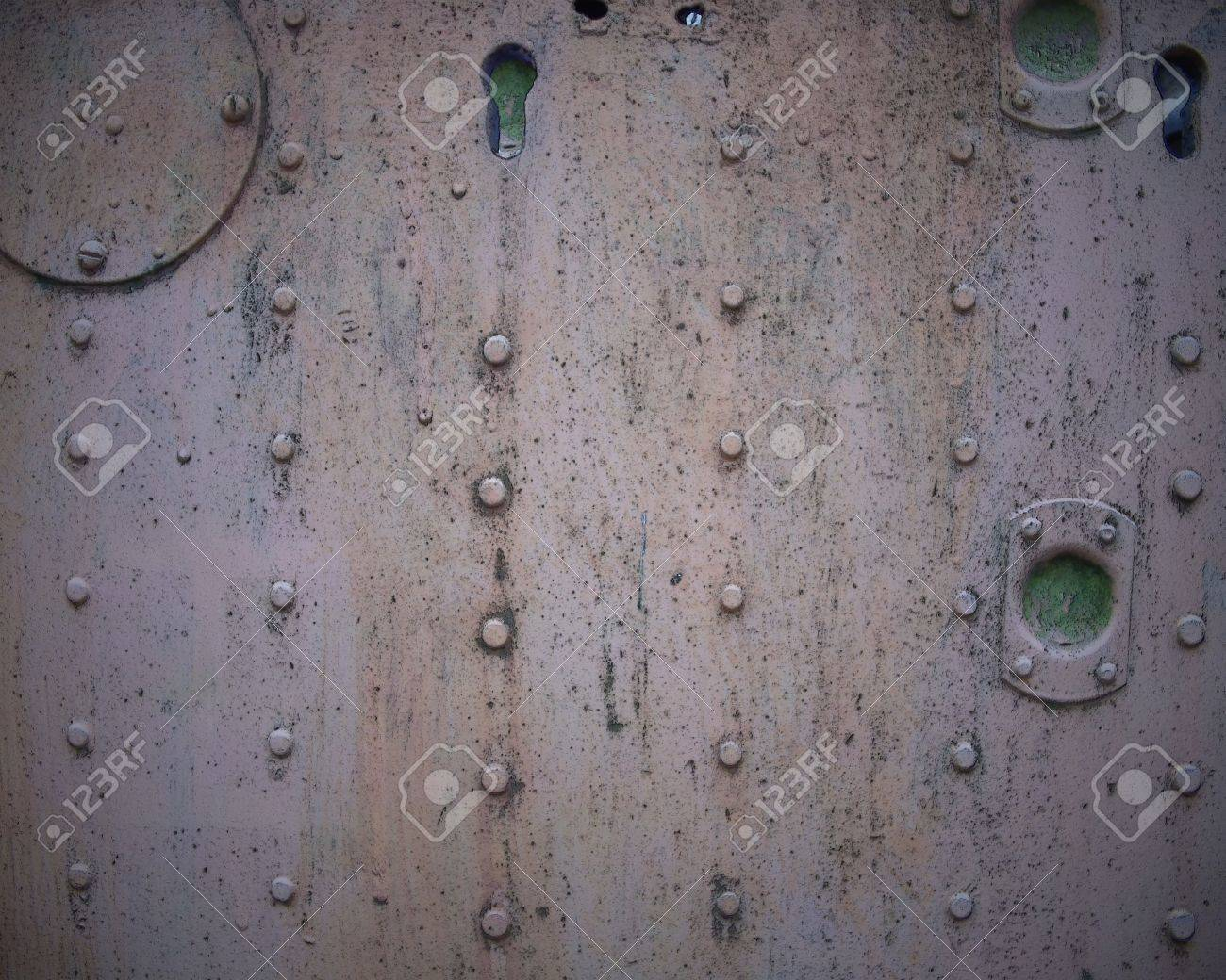 Metal wall with studs Stock Photo - 13259965