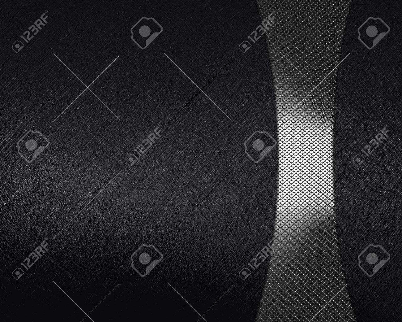 The template for the inscription  Black Background with metal nameplate for writing Stock Photo - 16146440