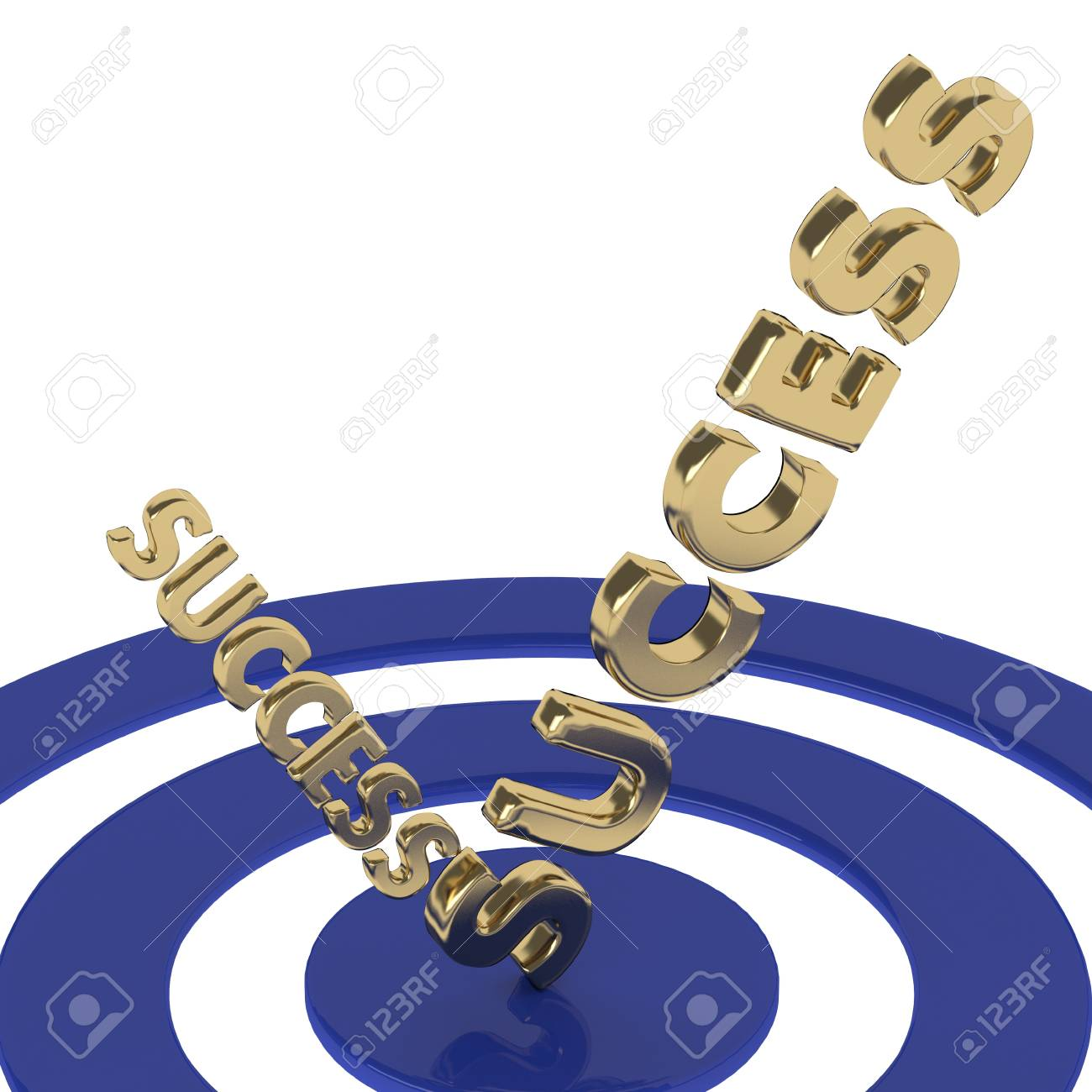 Success concept Stock Photo - 20119575