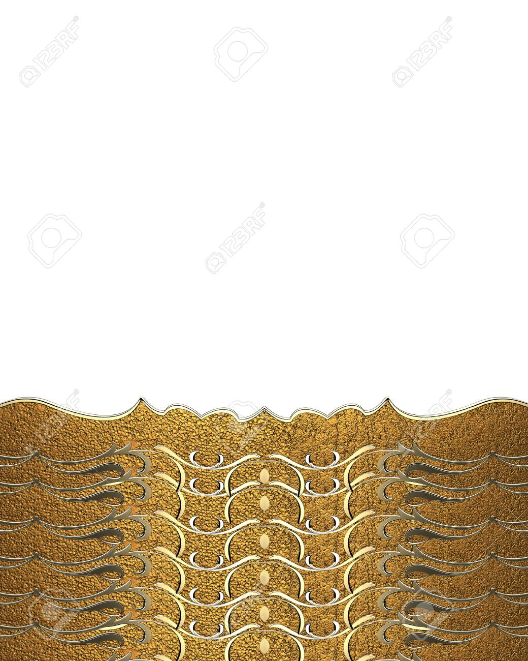 white background with patterns template for design copy space