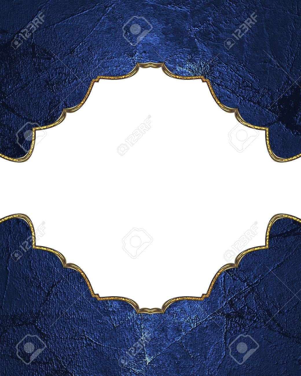 blue frame for presentation. template for design. copy space, Presentation templates