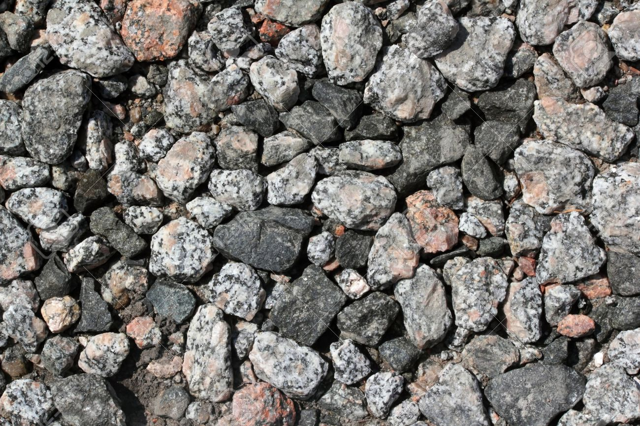 Rocky gravel of differen sizes, shapes and color Can be used