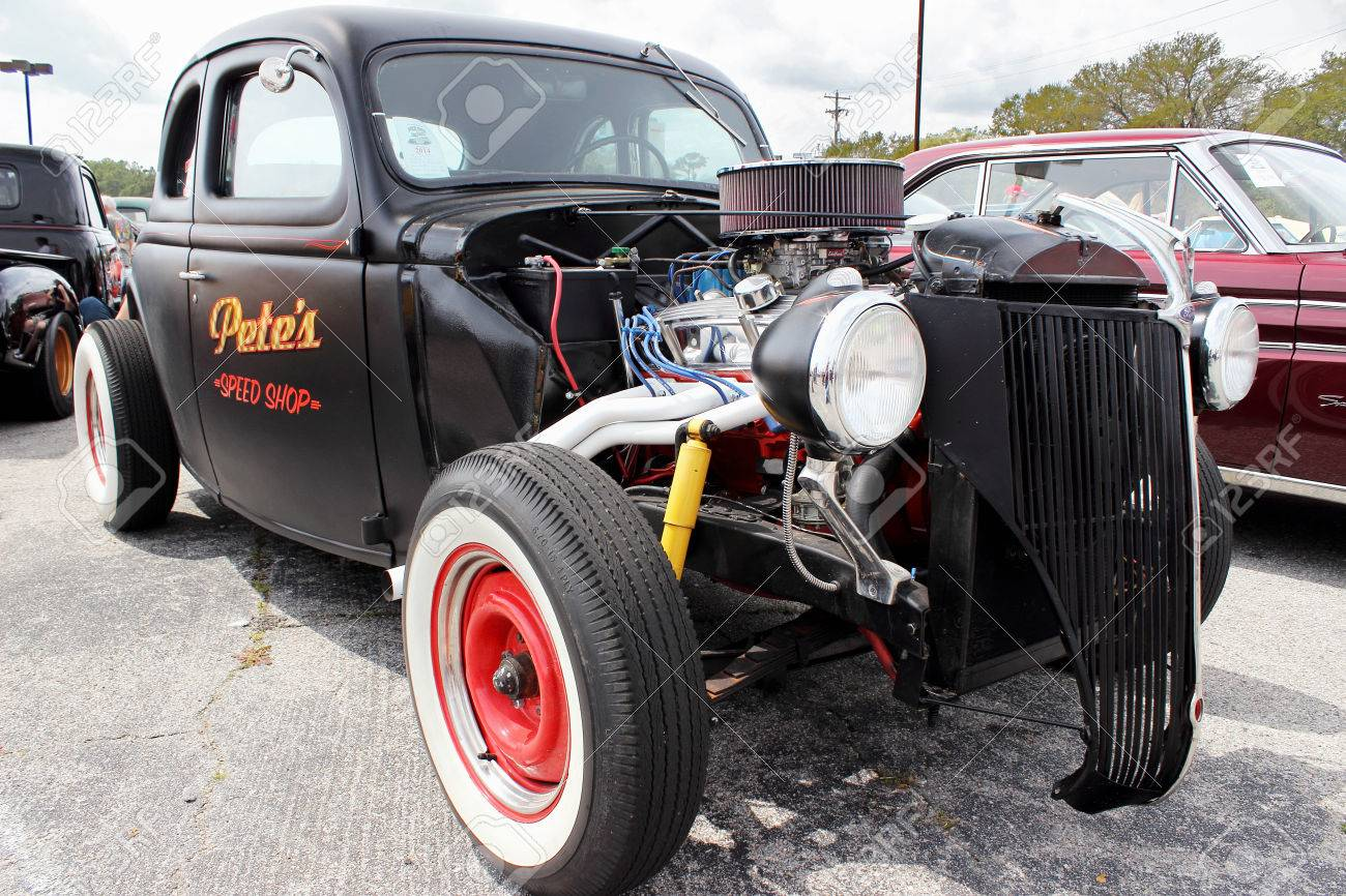 A Classic Antique Ford At The Run To The Sun Car Show In Myrtle - Myrtle beach car show
