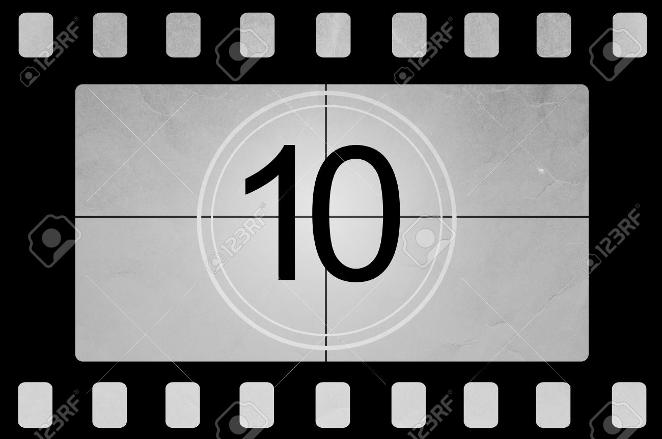 HD Old Movie Countdown - THE BEST - Film with beeb sound effect ...