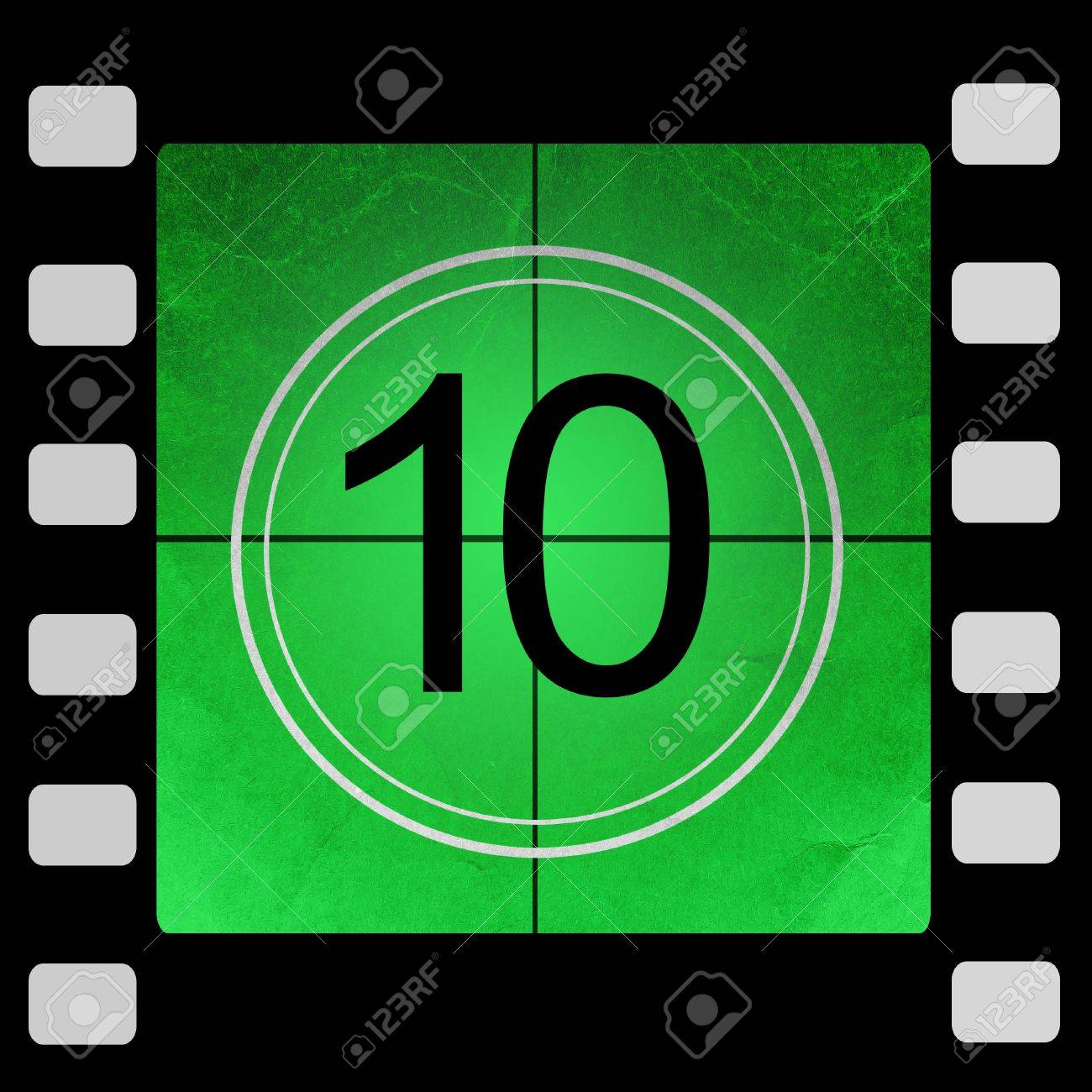 OLD movie COUNTDOWN ! Old Style Film Counter 10 sec - full version ...