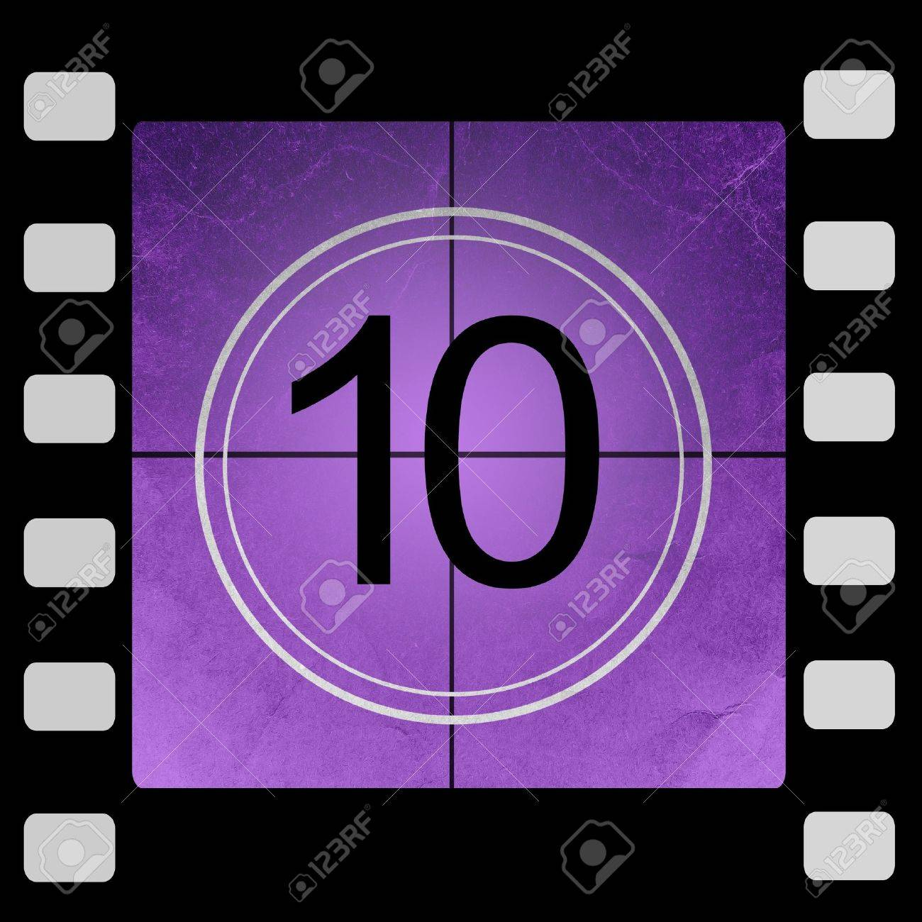 Film Countdown - 10 seconds - YouTube