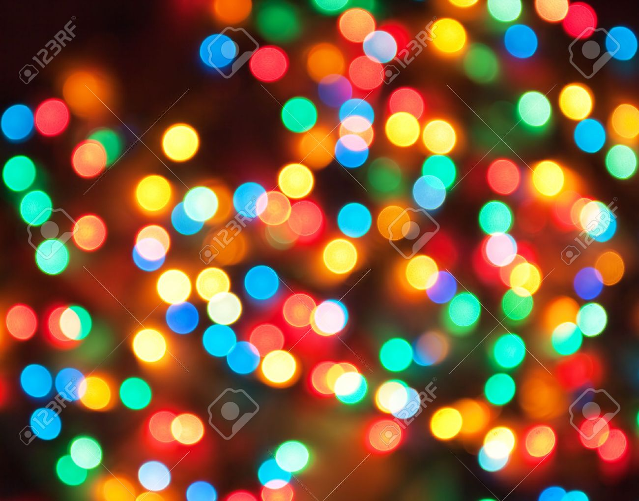 abstract holiday background, defocused lights - 8350259
