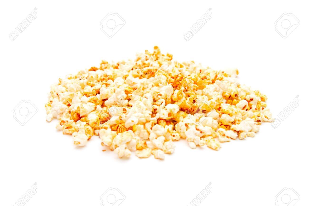 Popcorn, isolated on white background - 9280434