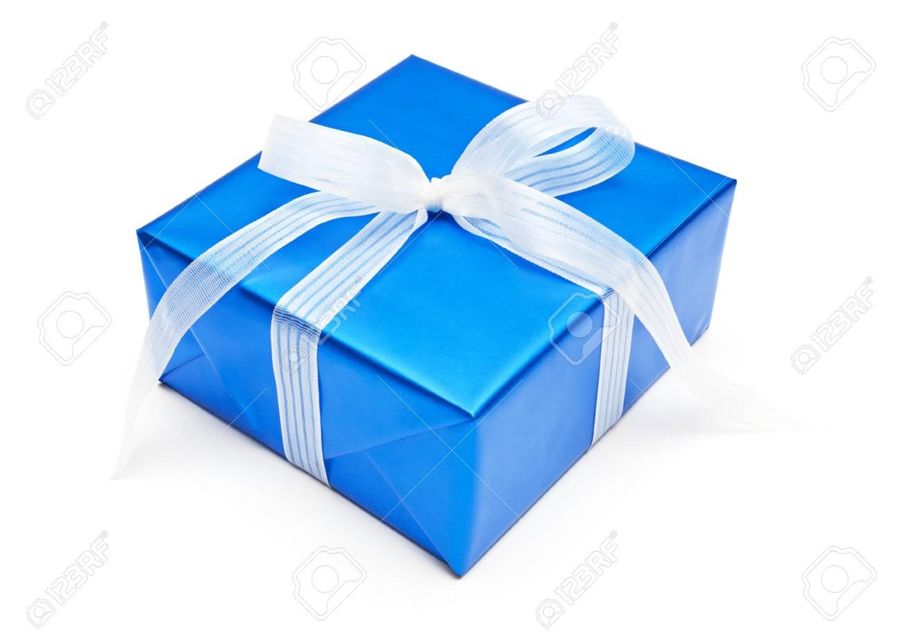 Gift, isolated on white dackground - 9280432