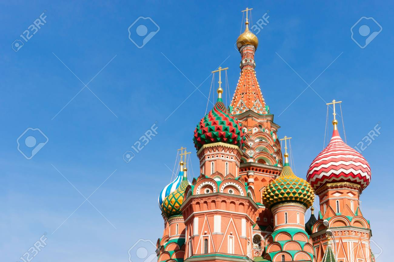 Saint Basil's Cathedral in Moscow. Russia. - 9344611