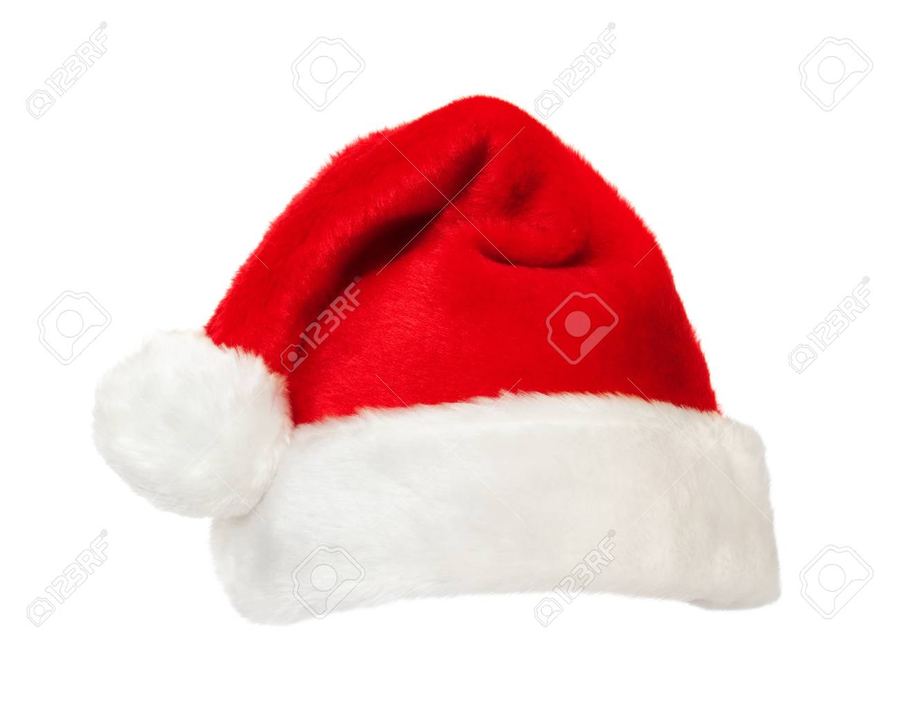 Isolated red Santa's hat - 11230965
