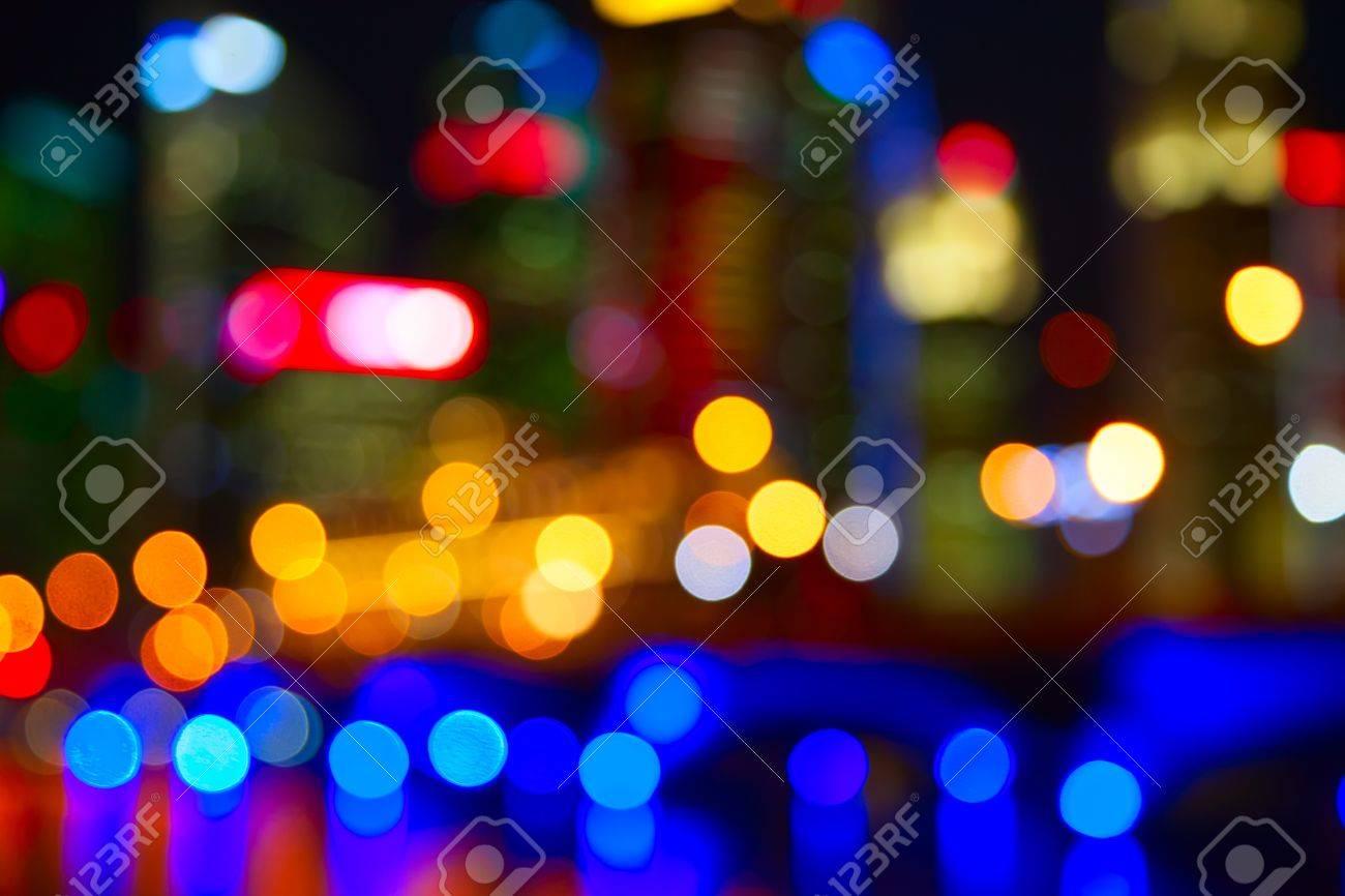 Night lights of the Singapore city Stock Photo - 22104781