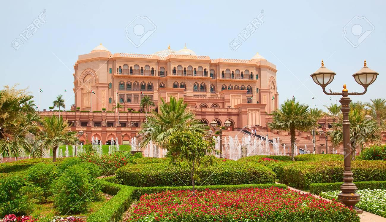 Abu Dhabi Vereinigte Arabische Emirate 27 April Emirates Palace