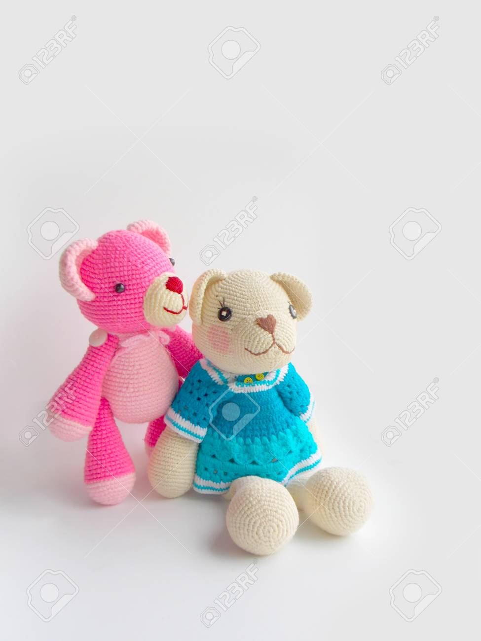 Crochet Teddy Bear Girl Plush Toys Crochet Bears Handmade | Etsy | 1300x975