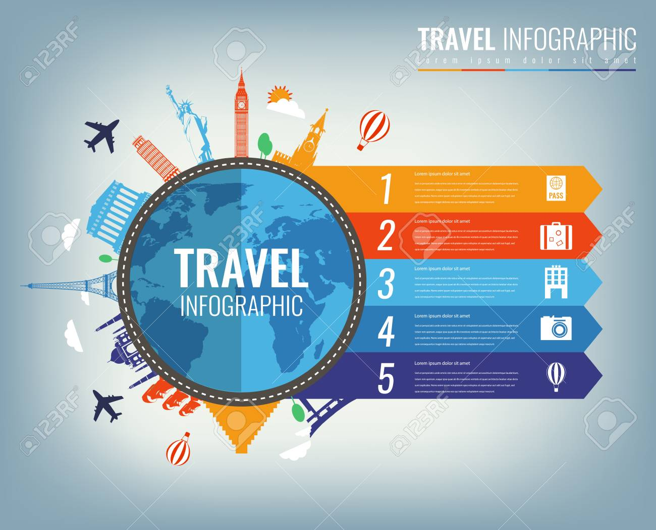 travel infographic infographics for business web sites