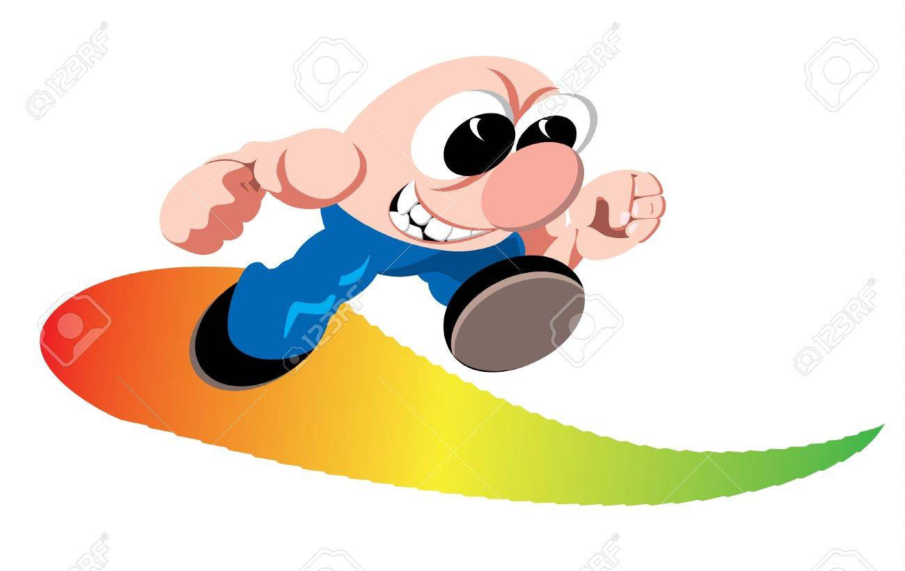 Cartoon runner Stock Vector - 10261037