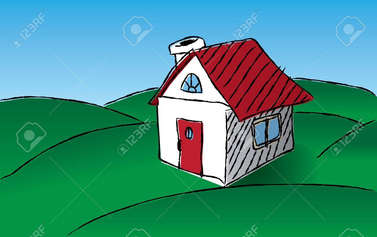 Hand drawn house Stock Vector - 10475385