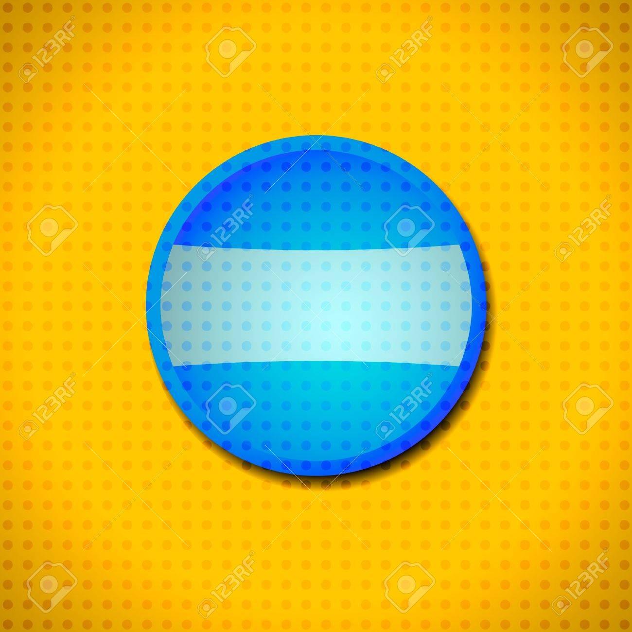 Blue circle frame Stock Vector - 11362270