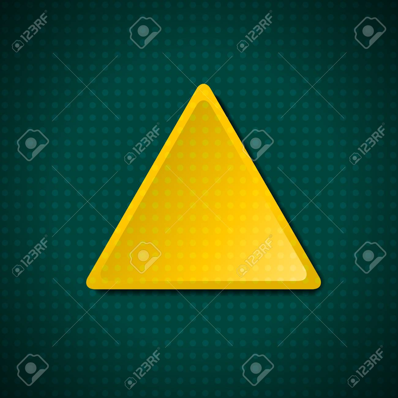 Triangular dotted frame Stock Vector - 11839875